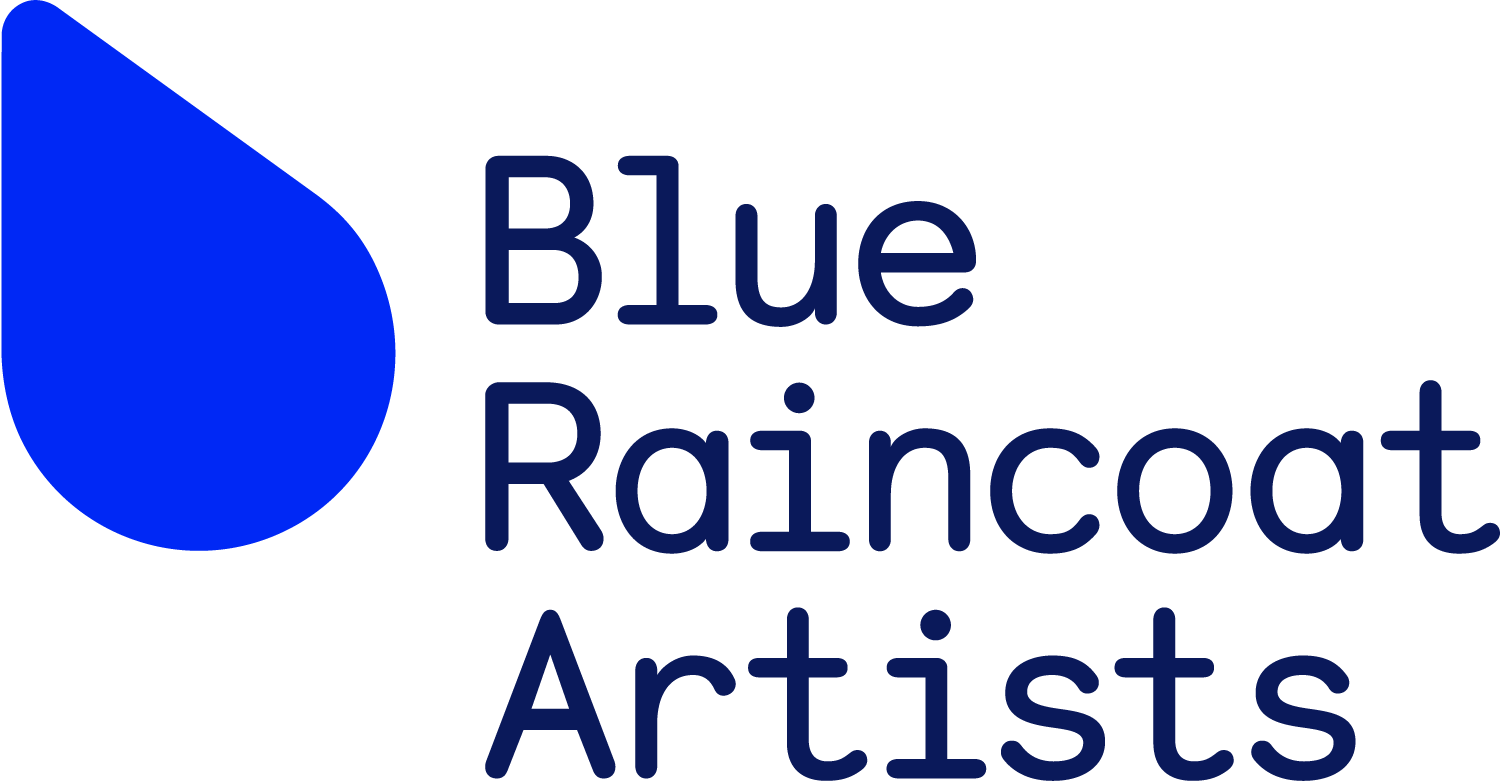 Blue Raincoat Artists Logo